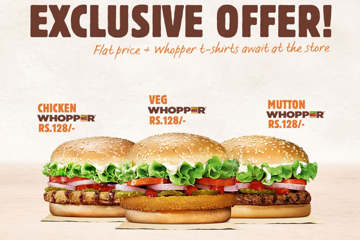 Burger King India Is Pre Selling Burgers On EBay