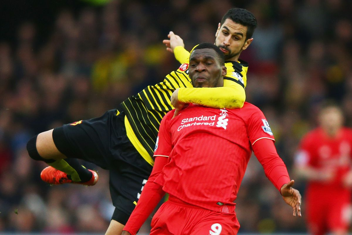 I honestly didn't realise Benteke had been subbed into the match.