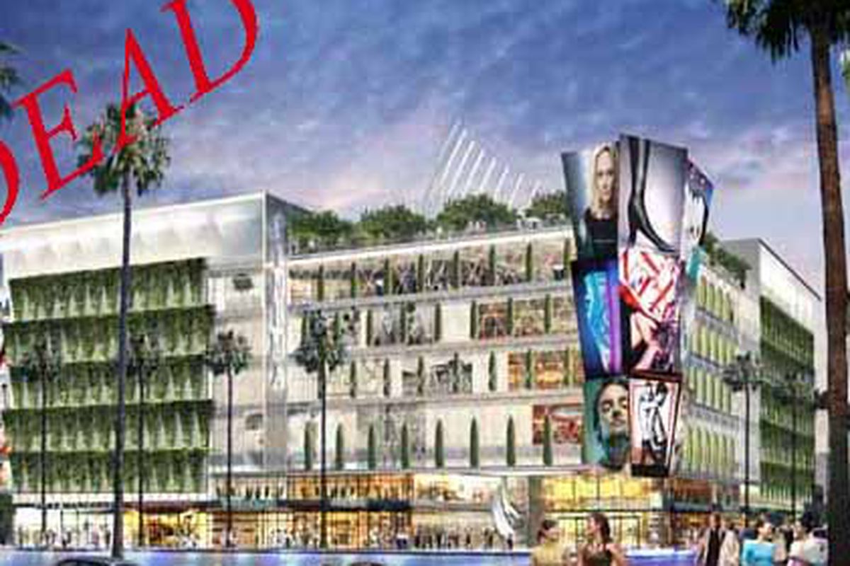 """Image via <a href=""""http://la.curbed.com/archives/2009/07/wilshire_and_vermont_vertical_mall_is_never_happening.php"""">Curbed</a>"""