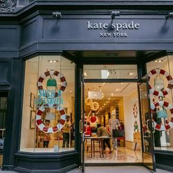 """<b>↑</b> When there's a <a href=""""http://www.katespade.com/""""><b>Kate Spade</b></a> (135 Fifth Avenue) nearby, it can be hard to stay away. Pop in for your weekly dose of color and cheer, and find your new favorite pair of shoes/bag/dress/watch/wallet (you"""