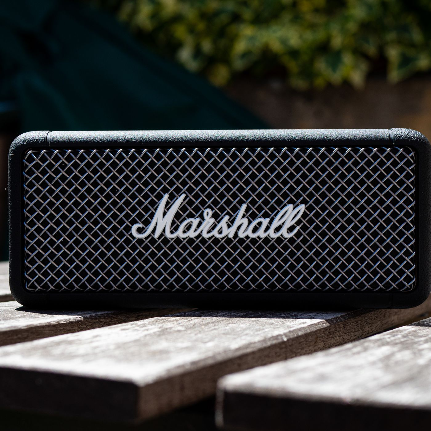 Marshall Emberton review: a rugged, refined Bluetooth speaker