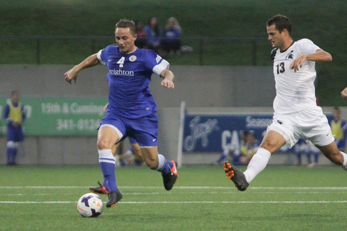 Chicago Fire drafted touted Creighton defender Vincent Keller in the third round of the MLS SuperDraft