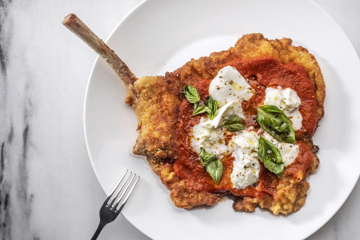 Veal Parmesan at Fiorella