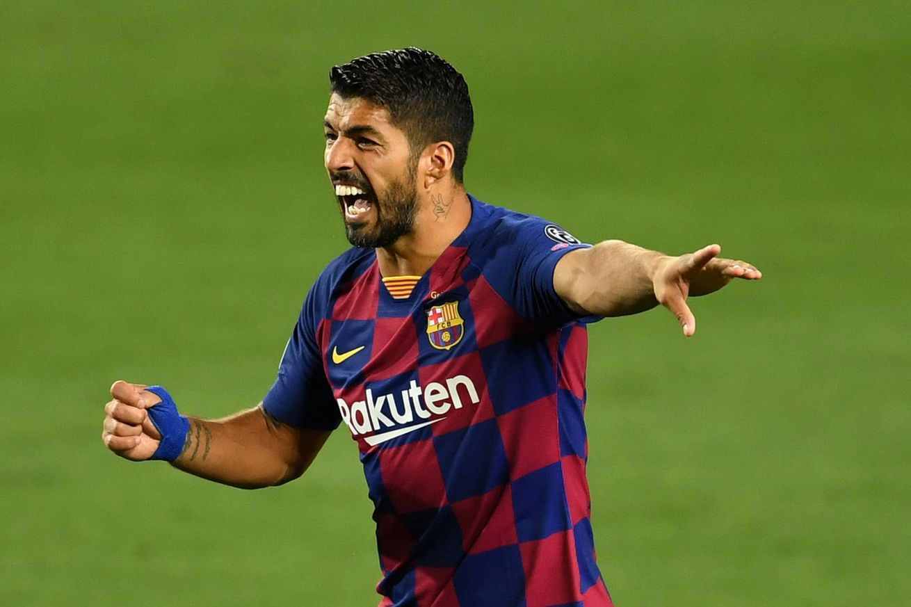 Suarez agrees Barcelona exit, tipped to join Atleti