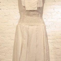 Tess Giberson white Swiss dot dress (was $255, now $112.50)