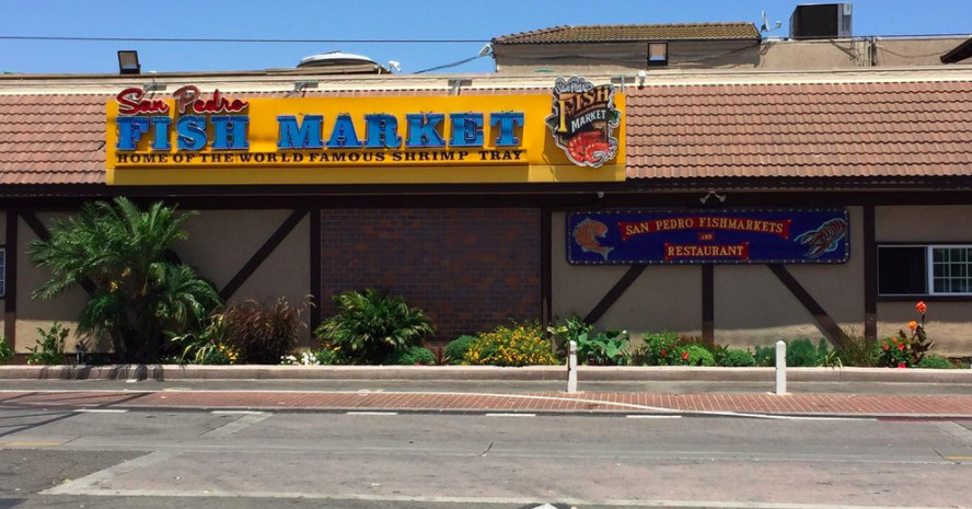 The famous san pedro fish market heads to long beach for Long beach fish market