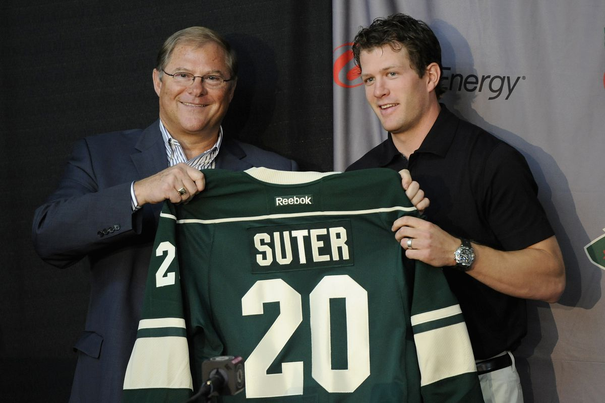 What if Ryan Suter signed with Detroit?