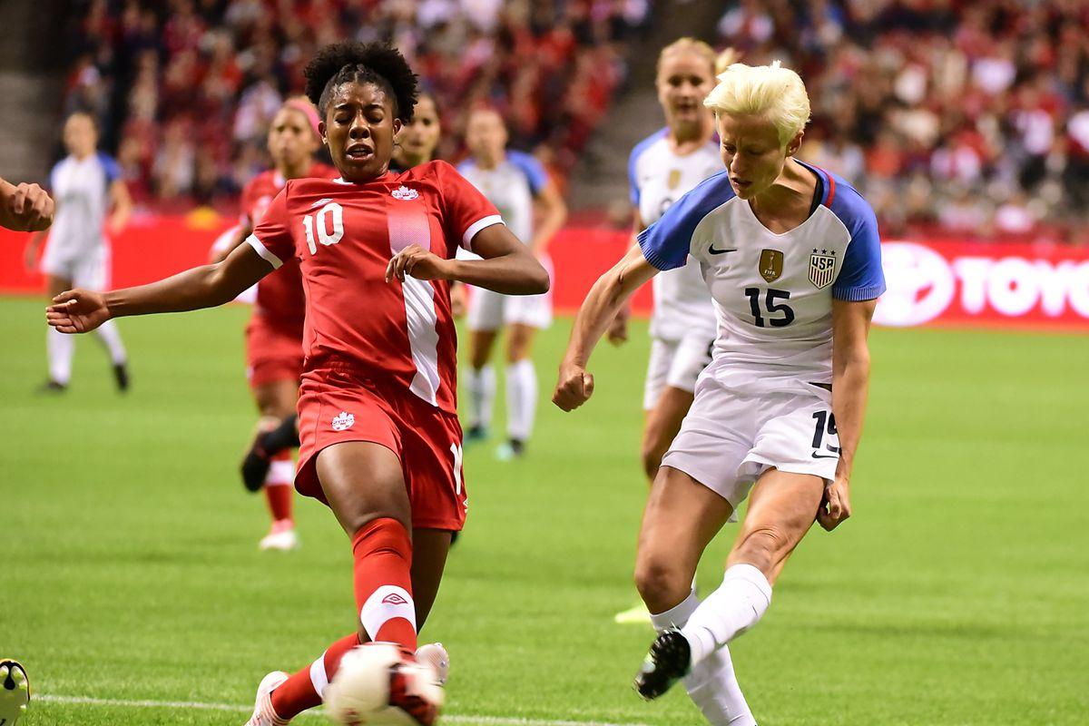 Soccer: International Friendly Women's Soccer-USA  at Canada