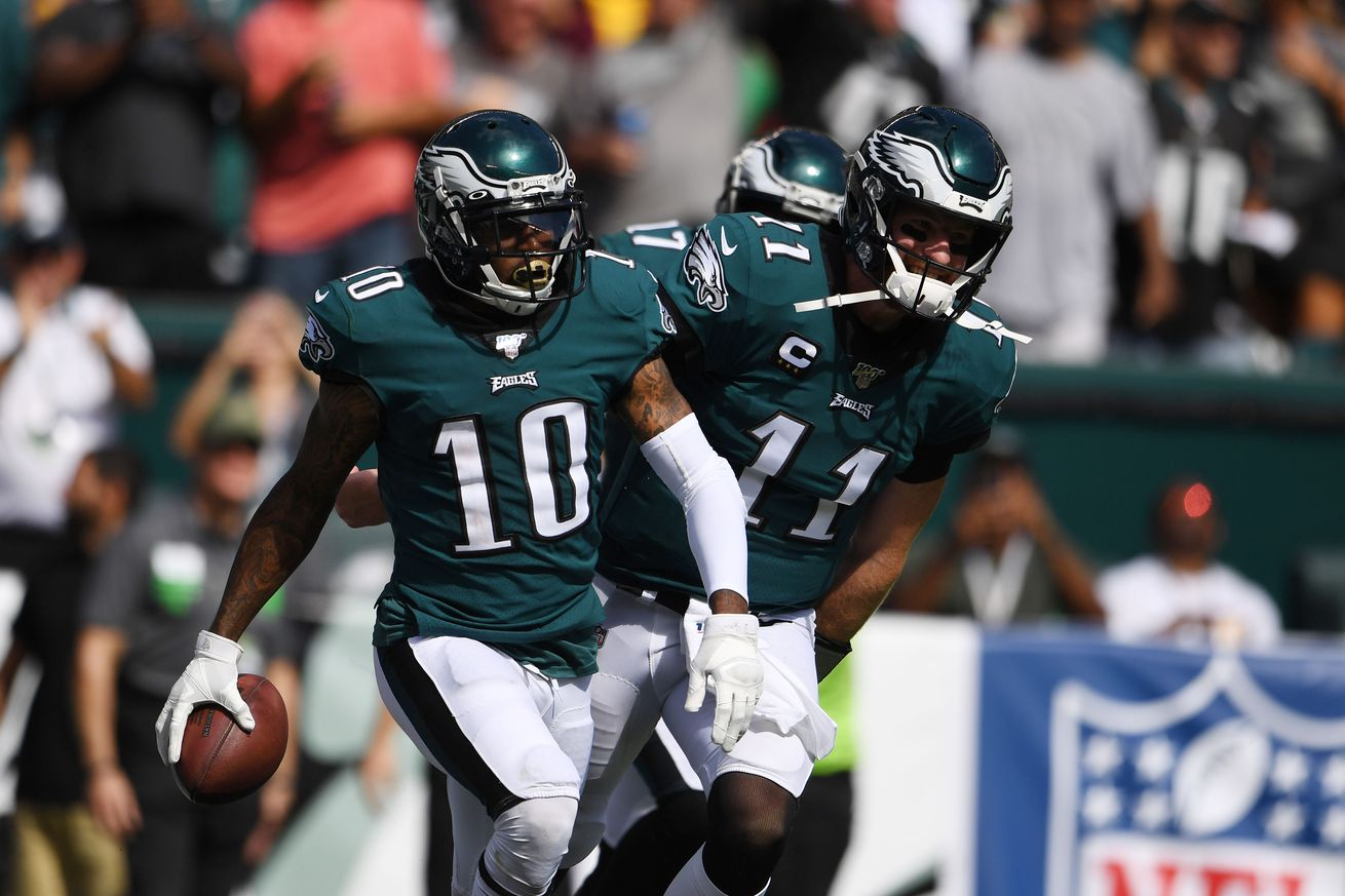 usa today 13330230.0 - Eagles are road favorites on Sunday Night Football odds