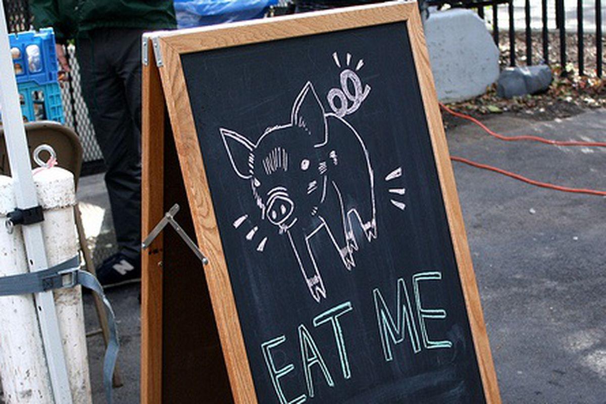 Hester Market's Porky Signage