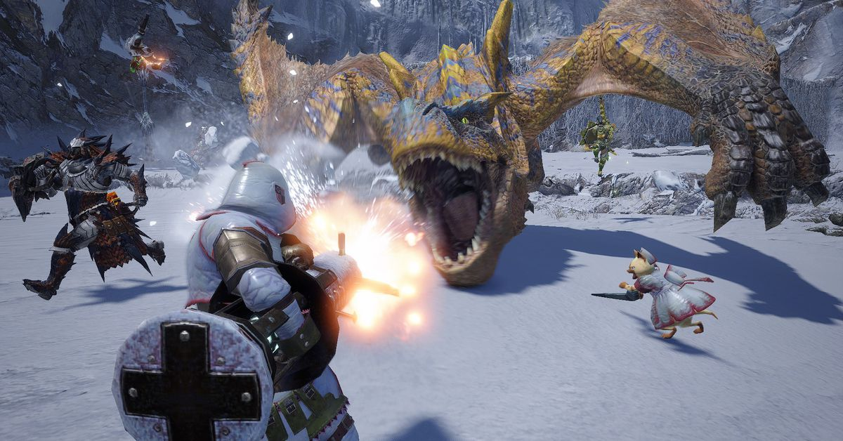 Monster Hunter Rise was made for the Switch, and it's coming to PC, too - The Verge