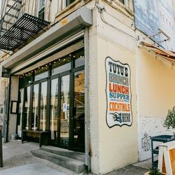 """<b>↑</b><b> <a href=""""http://www.tutusbrooklyn.com/#about"""">Tutu's</a></b> (25 Bogart Street) has a devoted following thanks to its balance of homey-neighborhood-spot and casual sophistication. Indulgence is on the menu, with Nutella-stuffed French toast, b"""