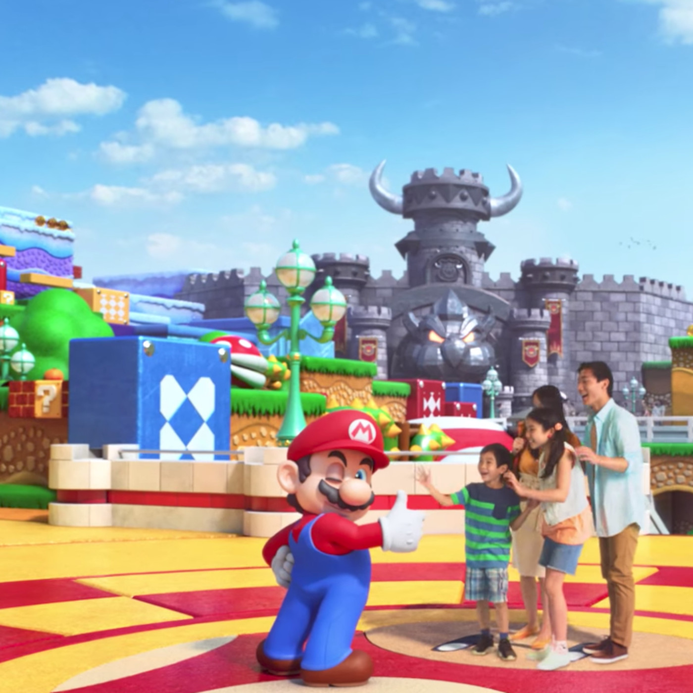 This Teaser For Universal Studios Japan S Super Mario Themed