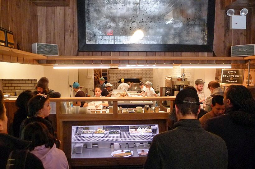 Inside Black Seed Bagels on the Lower East Side of Manhattan [Photo: Eater NY]