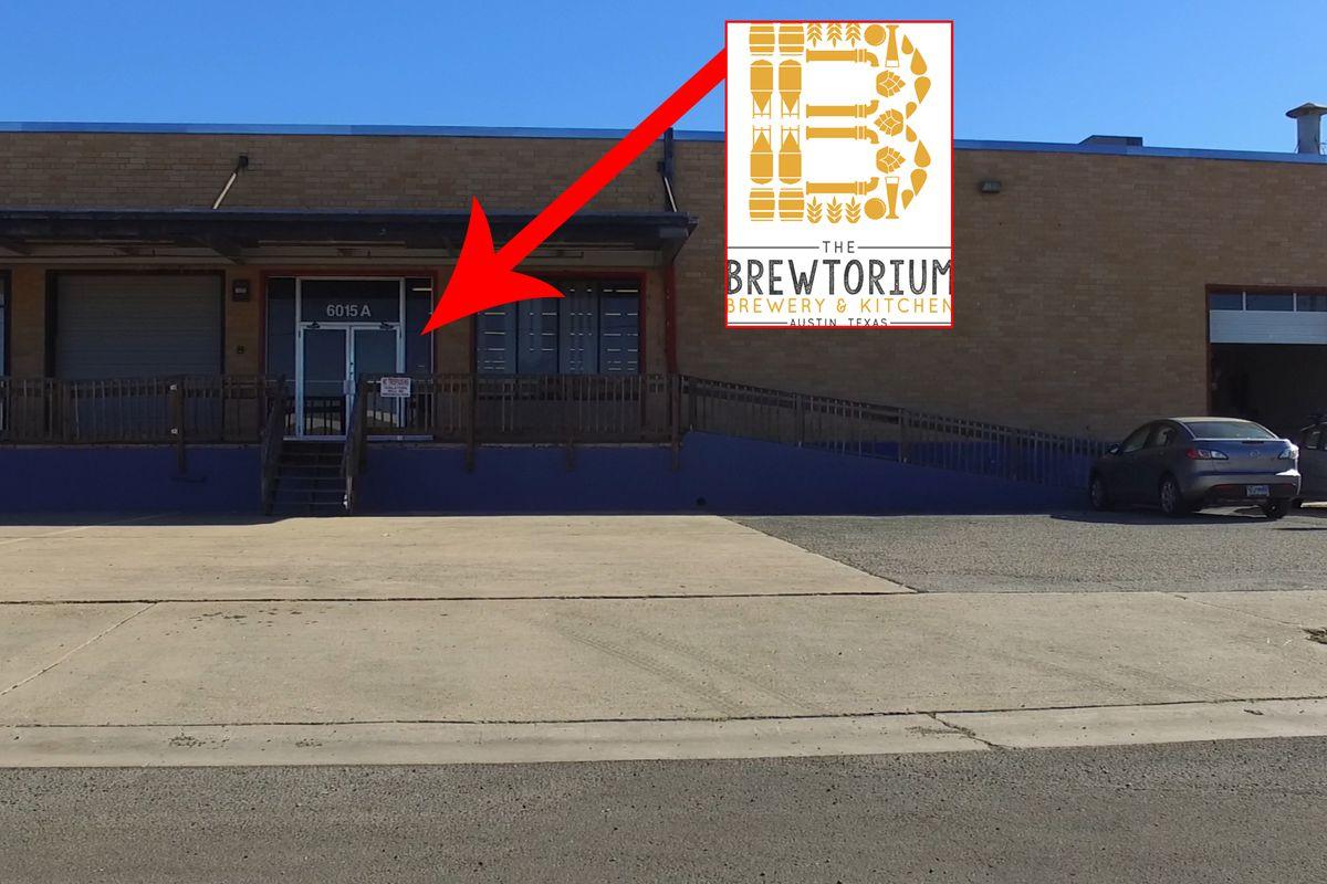 The Brewtorium's new home on Dillard Circle