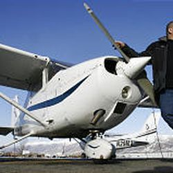 Rulon Gardner has nearly completed his schooling for a pilot's license. He wants to buy his own private plane so he can fly to his many speaking engagements.