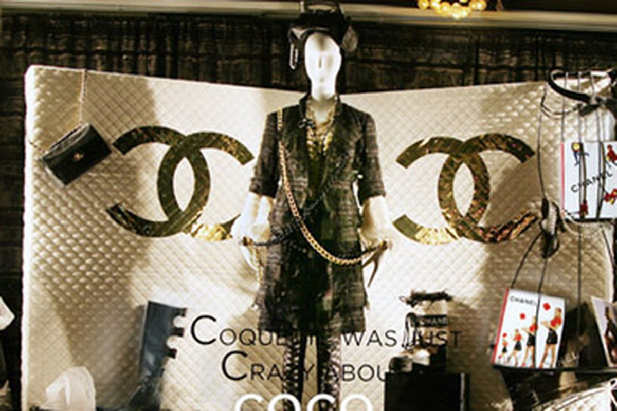 """Even if you didn't win your way into our party, you'll still get your chance to browse the dreamy Chanel offerings at Decadestwo very. very soon! Image via <a href=""""http://www.decadestwo.com/main.shtml"""">Decadestwo</a>"""