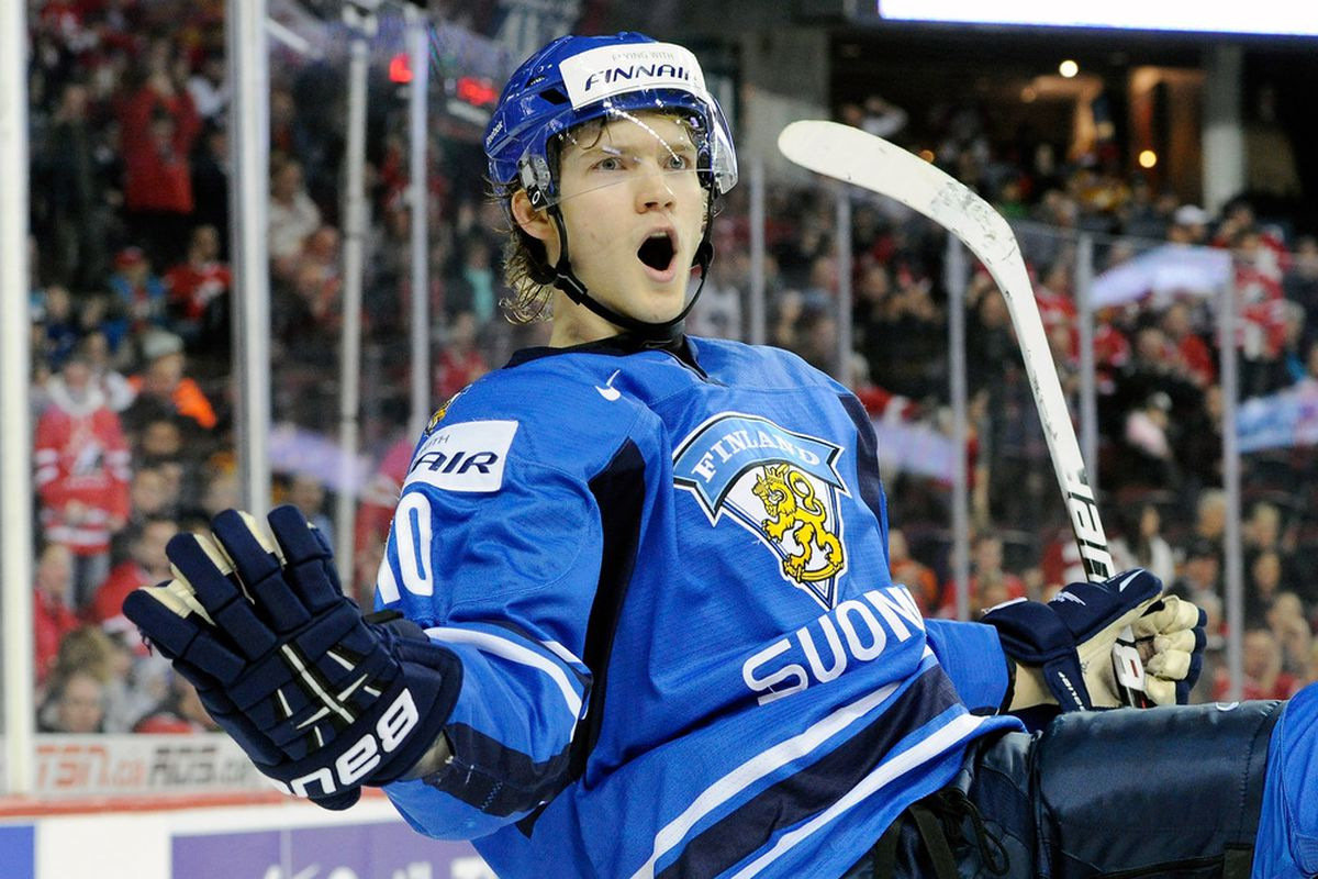 We'll have to wait another year to watch Joel Armia's killer goal celebrations.