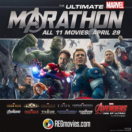 I went to the 29-hour Marvel Movie Marathon in high spirits