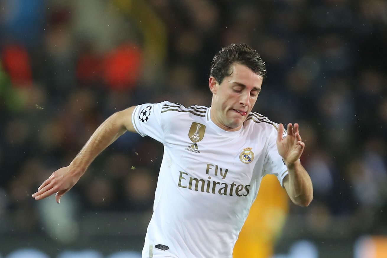 Odriozola set to leave Real Madrid on a loan deal this winter -report