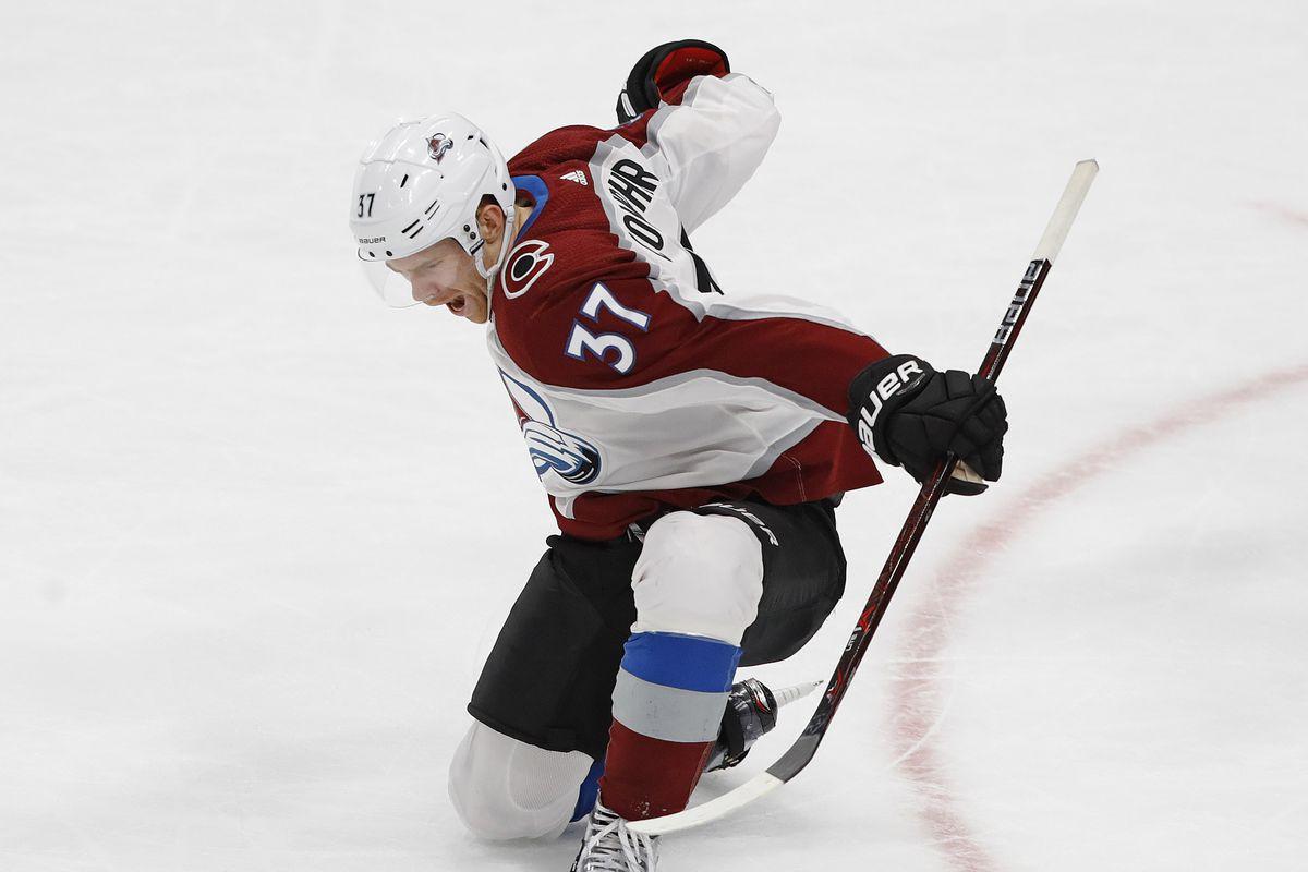 NHL: Colorado Avalanche at Edmonton Oilers