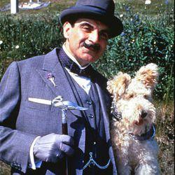 "David Suchet stars as Hercules Poirot in Agatha Christie's ""Dumb Witness."""
