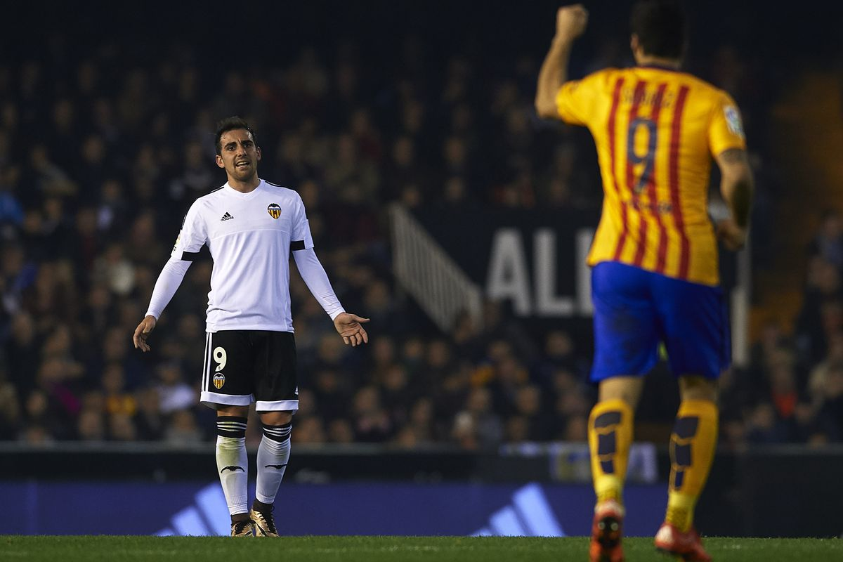 Alcacer hopes to be on the other side of this fixture.