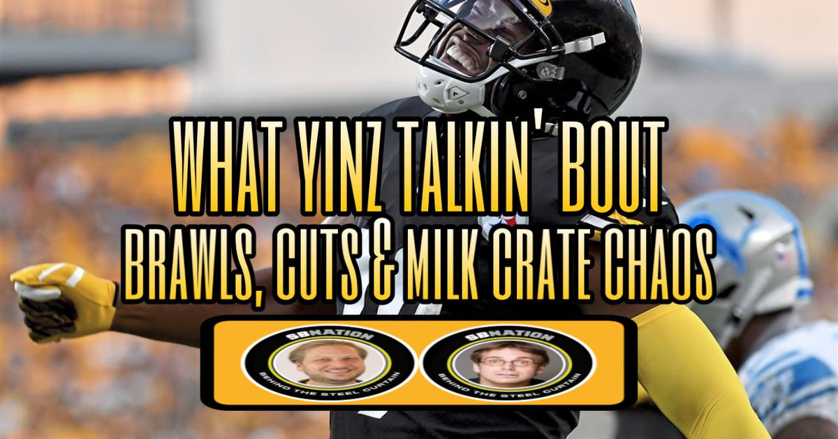 Talking all about Steelers Brawls, Cuts & Milk Crate Chaos - Behind the Steel Curtain