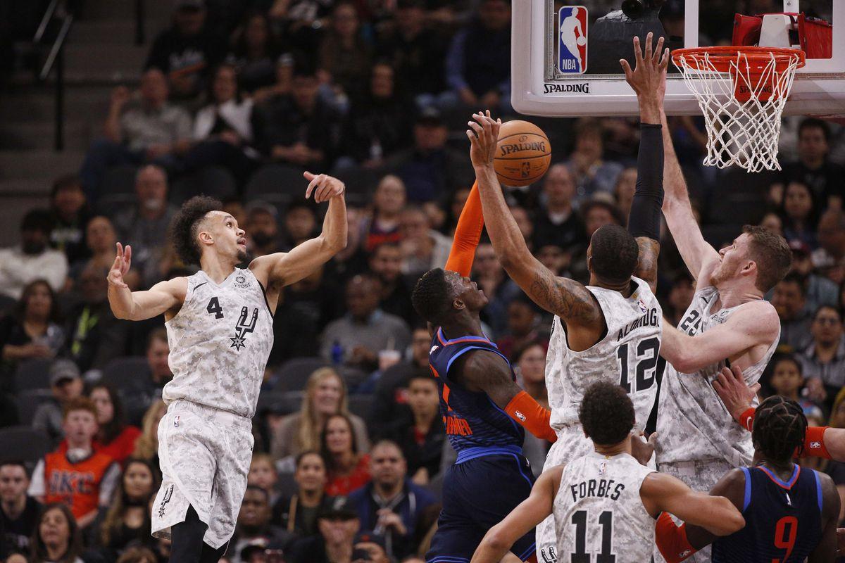 Spurs vs  Thunder, Final Score: San Antonio starts fast