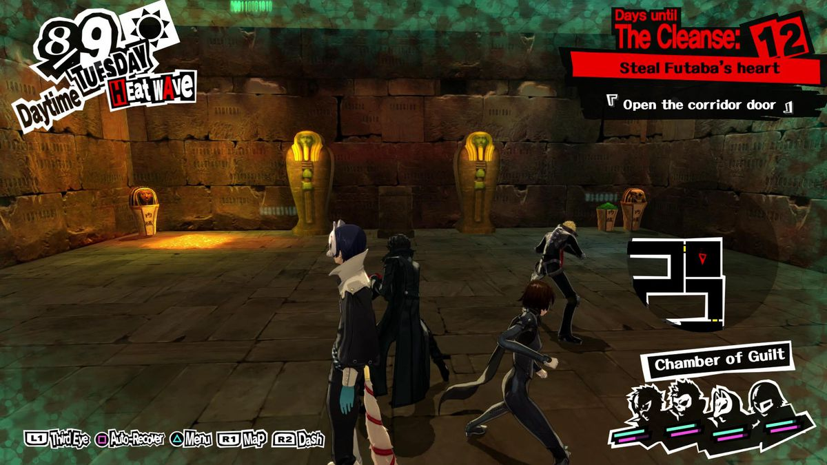 Persona 5 guide: All of July, summer vacation and Futaba Palace