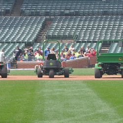 Getting ready to put the field to bed for the winter