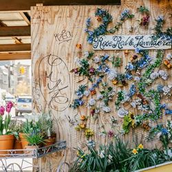 """<b>↑</b> Escape the city in the lush floral paradise that is <a href=""""http://shop.roseredandlavender.com/""""><b>Rose Red & Lavender</b></a> (653 Metropolitan Avenue). The enchanting shop is filled with every bloom and succulent you could dream of, plus the"""