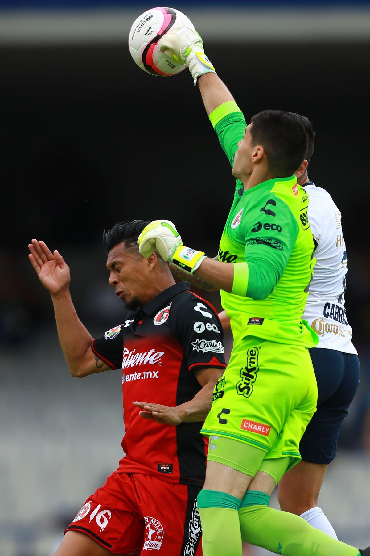 Pumas UNAM v Tijuana - Torneo Apertura 2017 Liga MX