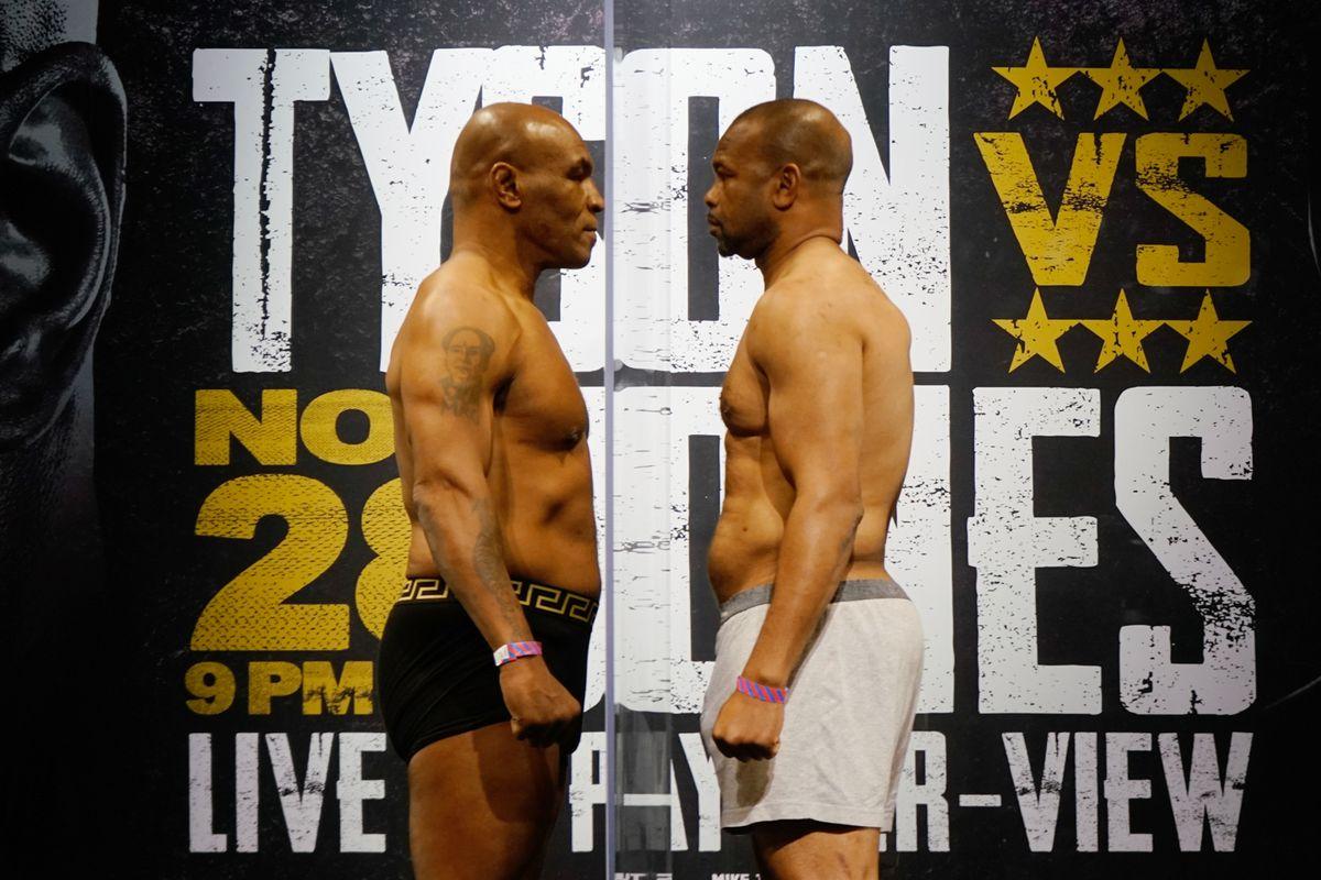 Mike Tyson vs. Roy Jones Jr.: Live round-by-round updates - MMA Fighting