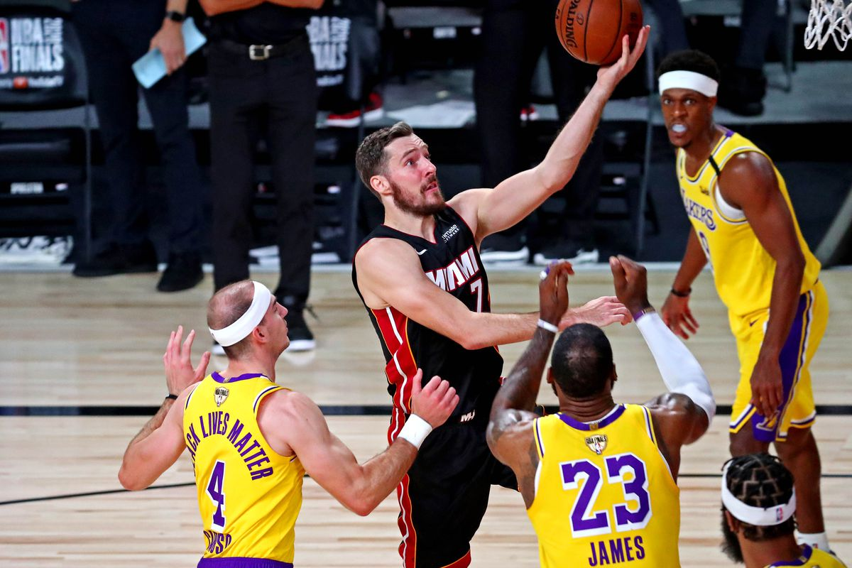 Nba Finals Update Goran Dragic Could Return From Left Foot Injury Bam Adebayo X Rays Negative Hot Hot Hoops