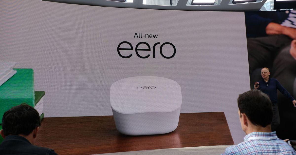 Amazon announces new $99 Eero mesh router with Alexa voice controls