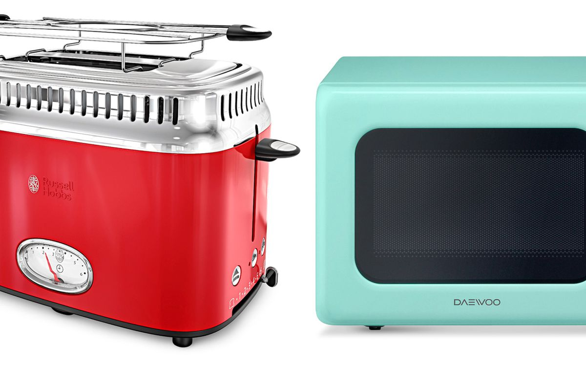 Colorful Vintage Style Appliances This Old House
