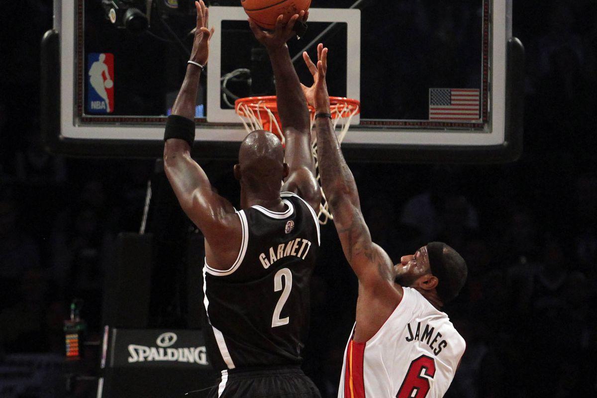 new styles e59c9 15e49 Miami Heat, Brooklyn Nets unveil nickname jerseys - SBNation.com