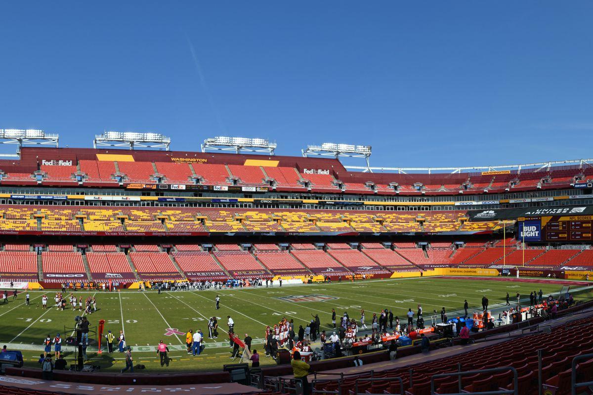 NFL: OCT 04 Ravens at Washington Football Team