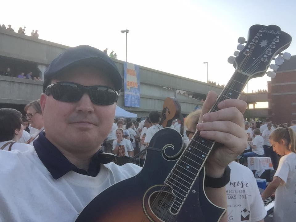 Walt with Mandolin