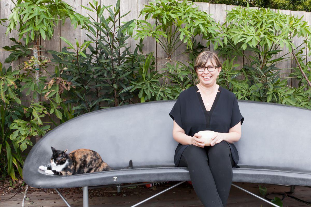 Liz Prueitt at her home