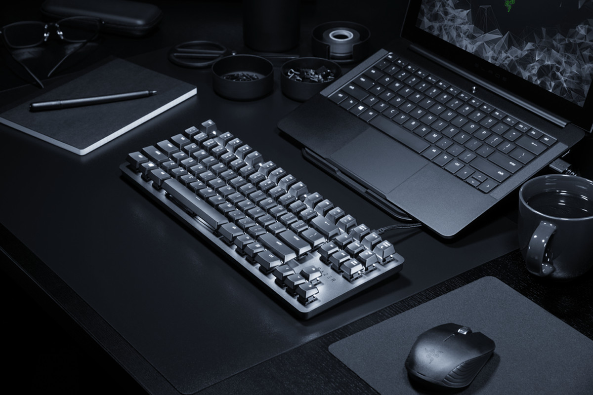Razer's BlackWidow Lite turns its gaming keyboard