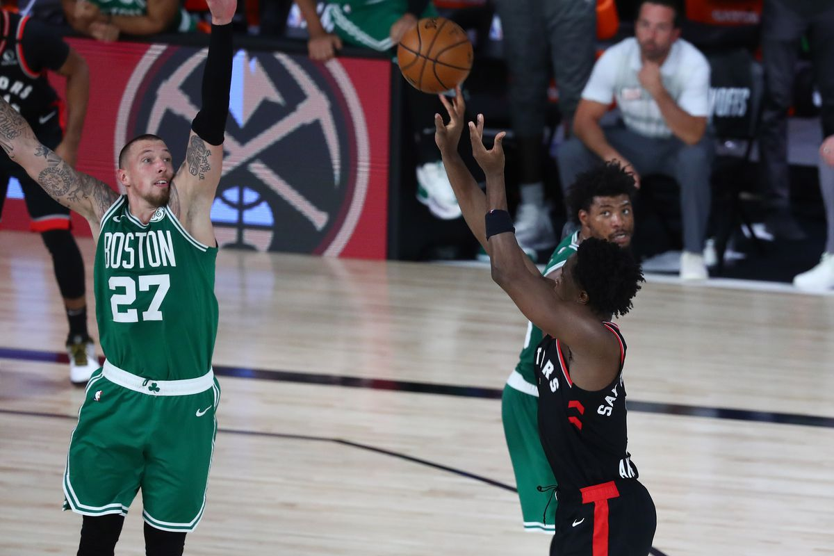 Toronto Raptors outlast Boston Celtics in Double OT, 125-122 - CelticsBlog