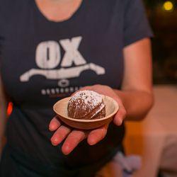 Ox's meat doughnut