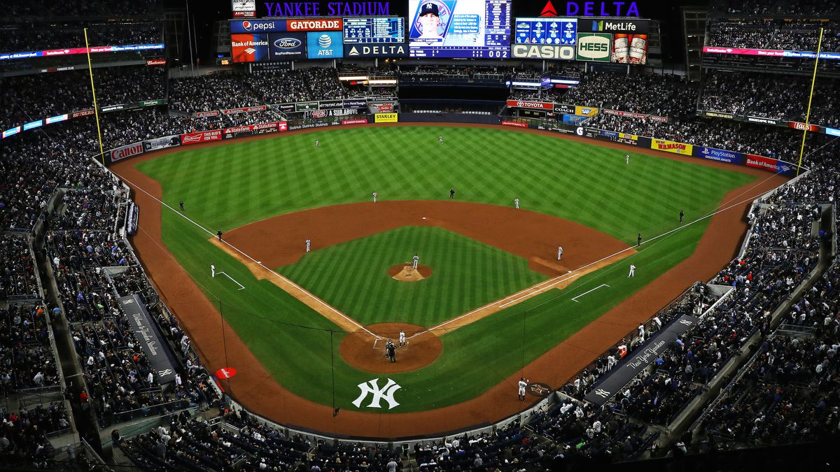 Image result for yankee stadium from stands