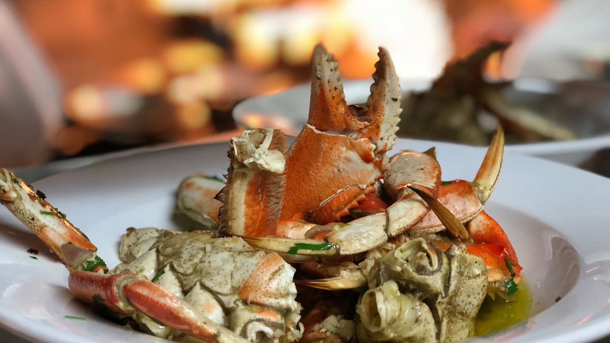 Dungeness crab at Scoma's