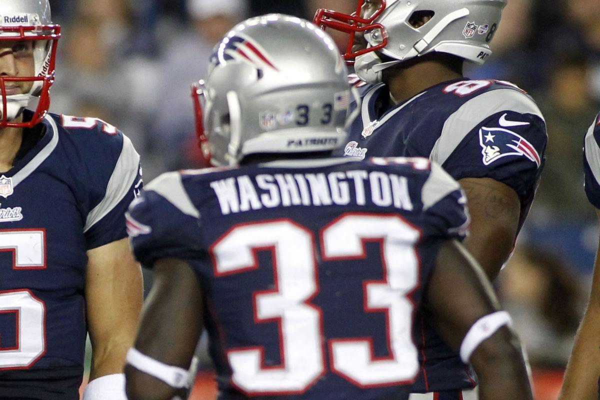 Veteran Leon Washington is back with the Patriots.