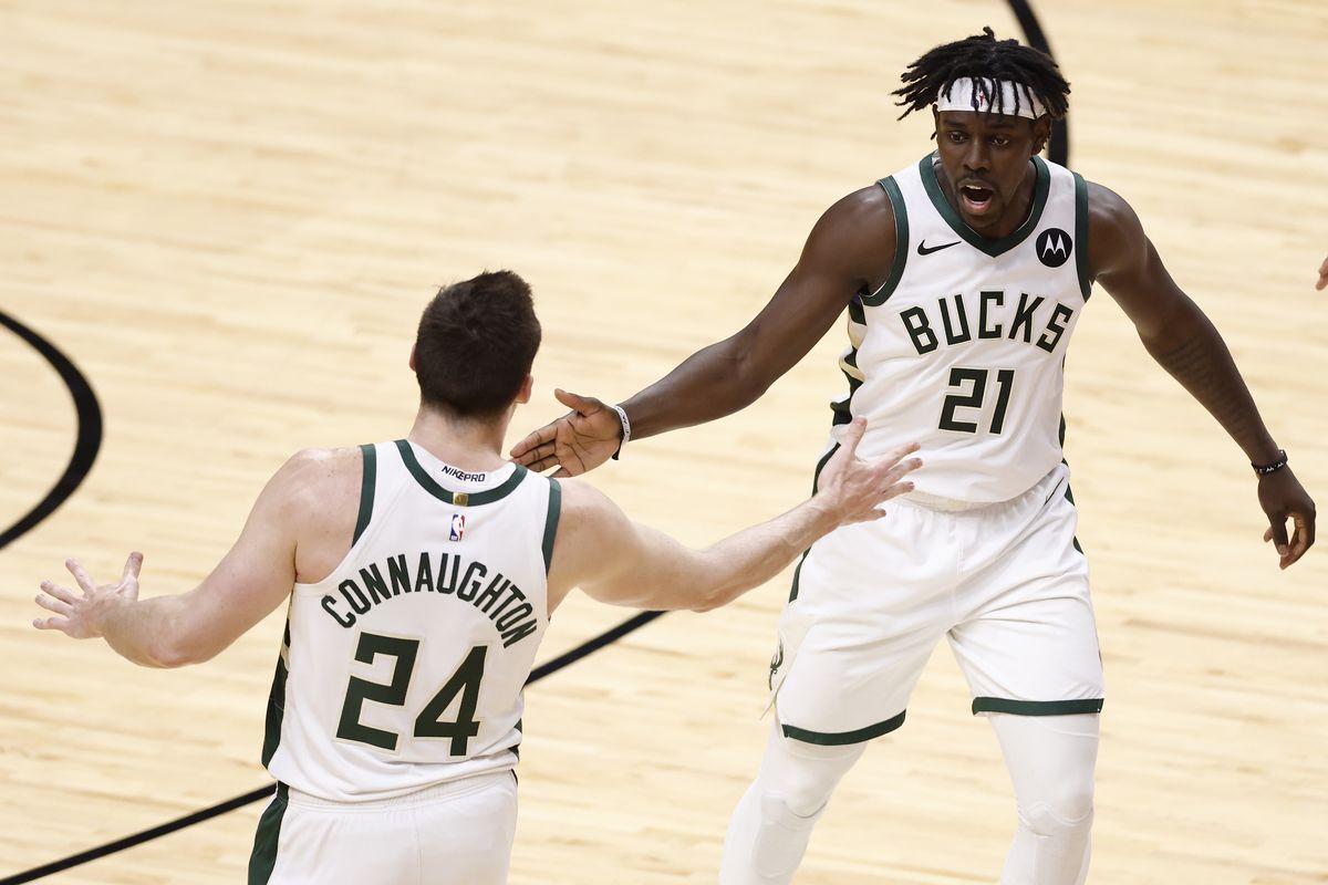 Milwaukee Bucks v Miami Heat - Game Three