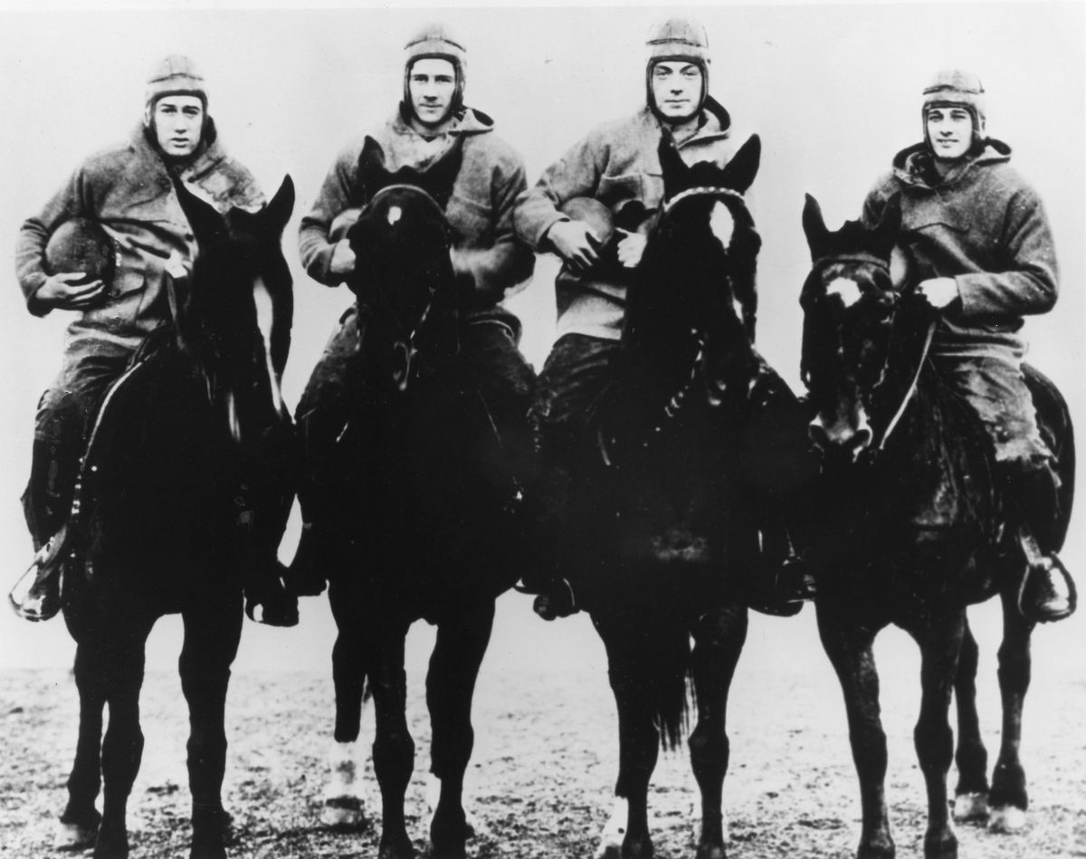 The Four Horsemen - Notre Dame - File Photos