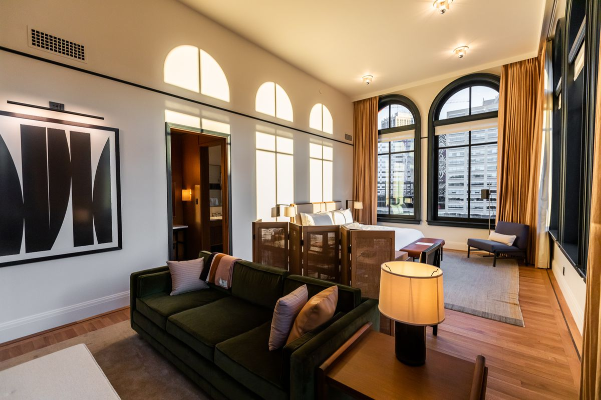 Inside The Shinola Hotel In Downtown Detroit Curbed Detroit